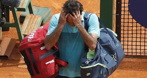 Wawrinka and Federer stunned in Monte Carlo