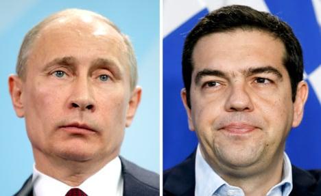 Russia shoots back at EU over Greek PM visit
