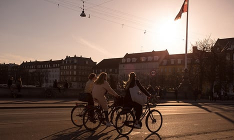 Danes' cycling habits hit 20-year high