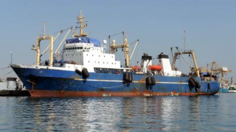 Russian trawler sinks off Canary Islands