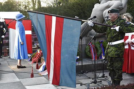Denmark celebrates 70 years of freedom