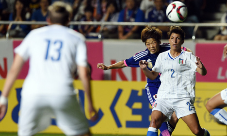 Japan beat Italy in World Cup sendoff