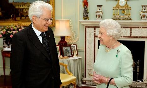VIDEO: Mattarella meets Britain's Queen