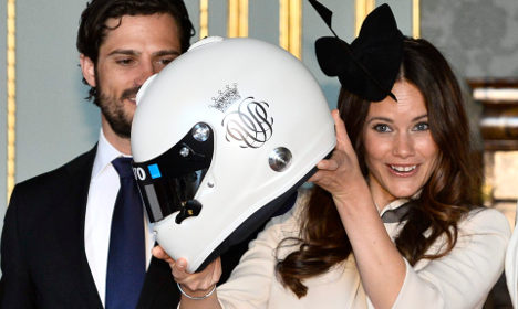 Swedish royals receive lavish wedding gifts
