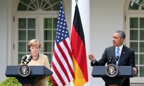 Germans, Americans both trust in alliance