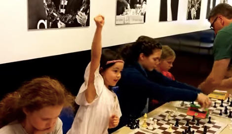 Norway's new six-year-old chess prodigy