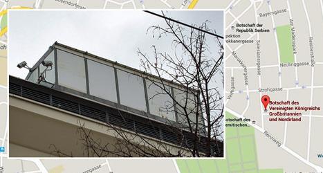 British embassy has 'listening post' in Vienna