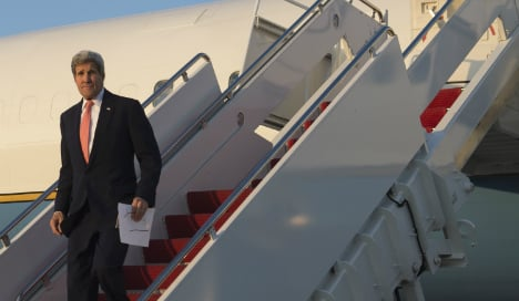 John Kerry to make first official visit to Spain
