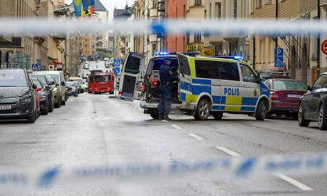 Swedish cop rapped for 'yap and die' T-shirt