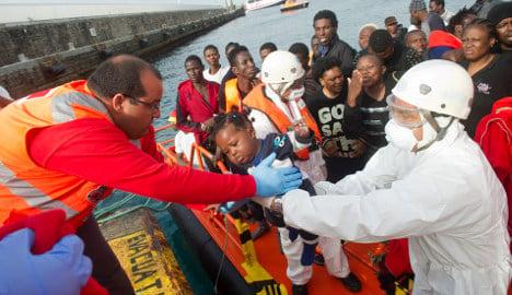 Spain grants asylum to just 1 percent of EU total