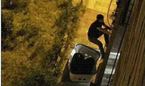 Arrested: the Spiderman thief of Coslada