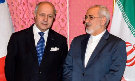 France tells Iran: 'No inspections then no deal'