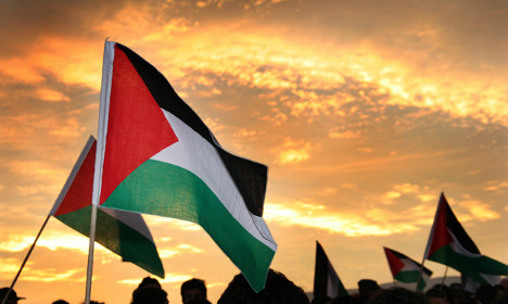Police list Palestine flag as terror symbol