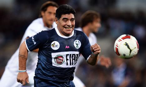 Maradona: Swiss Fifa chief Blatter is a dictator