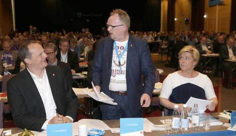 Norway MP slammed for 'sea adventure' T-shirt
