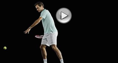 Tennis museum features Federer hologram