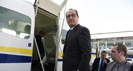 Countdown for Hollande's Cuba visit