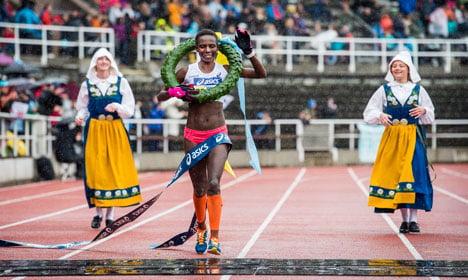 Ethiopian and Swede win Stockhom Marathon