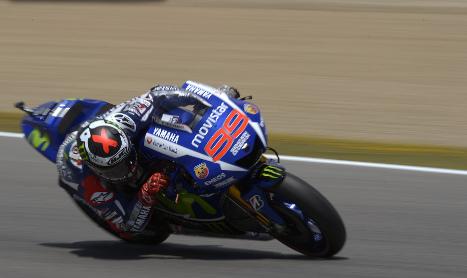 Jorge Lorenzo wins home MotoGP in style