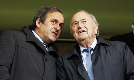 Platini wants Jordanian prince to batter Blatter