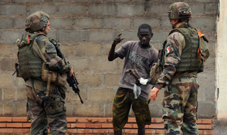 Judges launch probe into French sex abuse troops