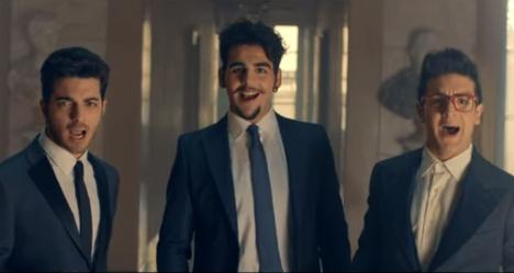 Italian popera trio among Eurovision favourites
