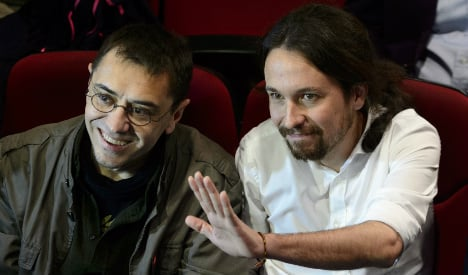 Honeymoon over for rebel party Podemos