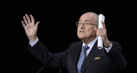 Blatter beats off critics to win fifth Fifa term