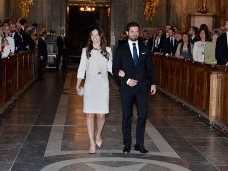 Royal wedding plans proclaimed in church