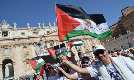 First Palestinians gain sainthood