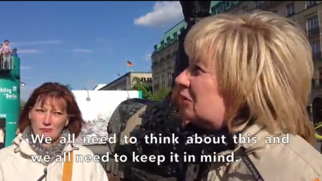 VIDEO: What Germans think of the end of WW2