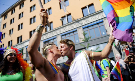 Sweden scores top spot for gays in Scandinavia