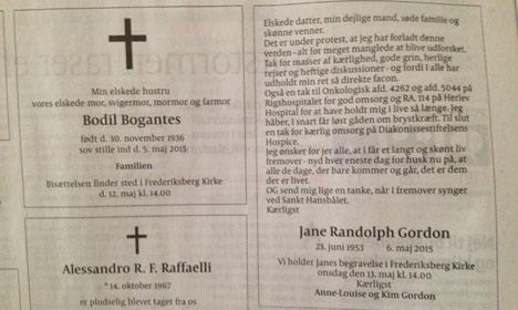 Dane's obituary becomes viral sensation