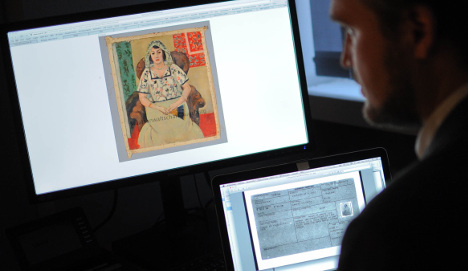 Painting from Nazi hoard returned to owner