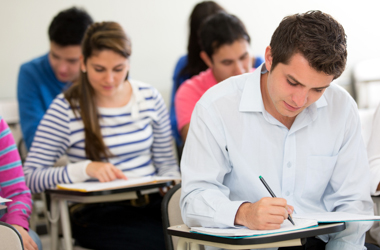 Burglars rip open and void sealed Latin exam