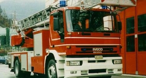 Elderly woman dies in Valais apartment fire