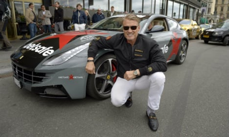 Hollywood stars join Stockholm Gumballers