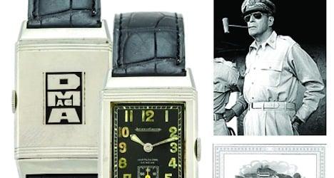 Sale of US general's watch exceeds estimates