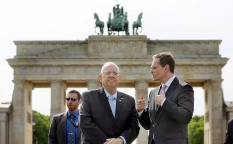 Germany, Israel celebrate 50 years of friendship