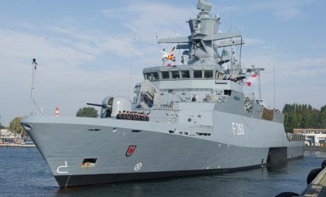 Israel to buy four German warships