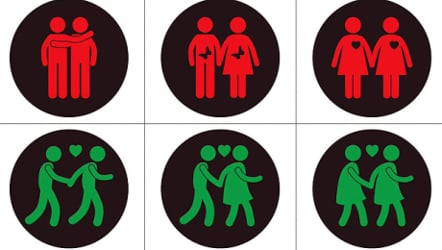 Vienna's gay-themed traffic lights to stay