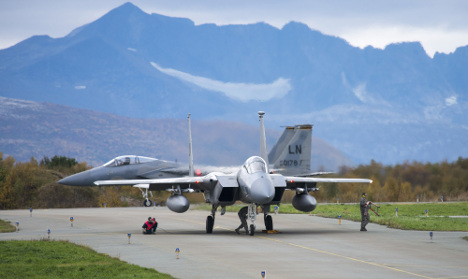 Sweden hosts giant global 'war' air challenge
