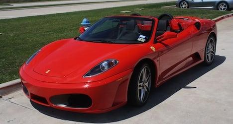 Ferrari driver nabbed at 250 km/h keeps car