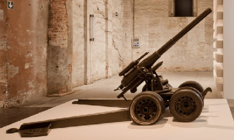 The Arsenale stuffed with guns, stripped of hope