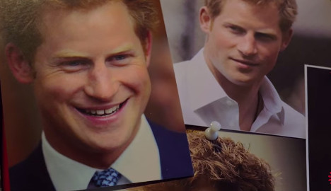 Prince Harry unwitting star of French comedy
