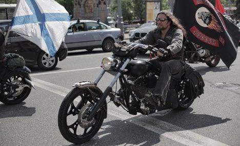Putin's biker gang cross border into Germany