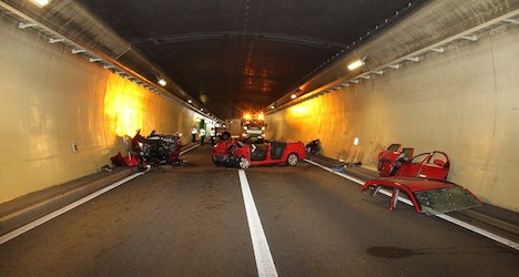 Wrong-way driver caused fatal tunnel crash