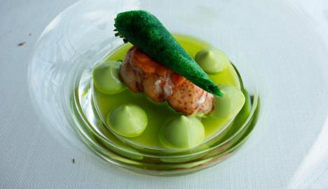 Basque restaurant is numero uno in Europe