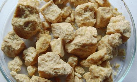 Swedish amber rock was Second World War bomb