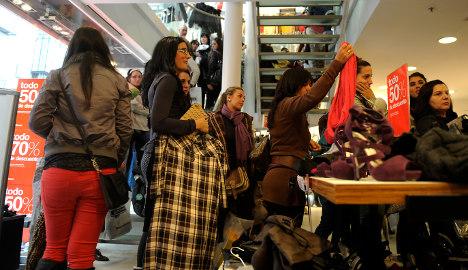 Road to recovery? Poor get poorer in Spain